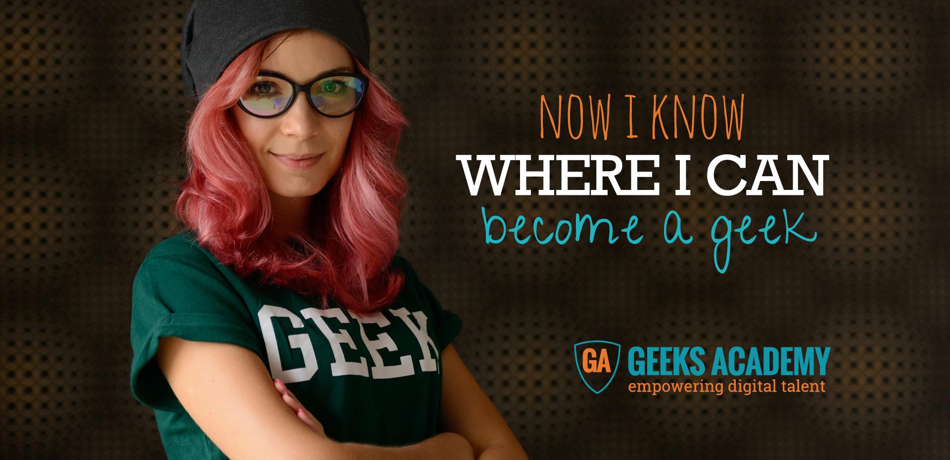 Geeks Academy corsi programmazione web coding mobile