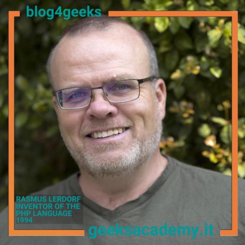 THE CREATOR OF PHP: RASMUS LERDORF