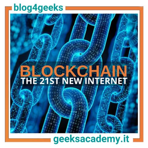 BLOCKCHAIN TECHNOLOGY REVOLUTION: THE 21ST NEW INTERNET