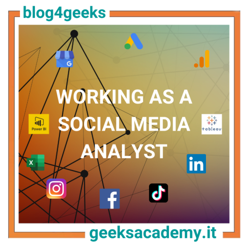 WORKING AS A SOCIAL MEDIA ANALYST
