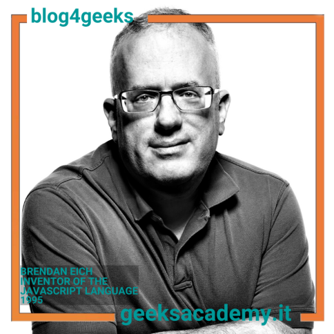 BRENDAN EICH: THE FOUNDER  OF JAVASCRIPT, MOZILLA AND AND BRAVE