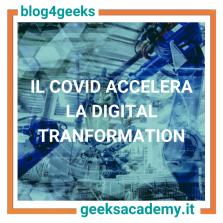 IL COVID ACCELERA L'AUTOMAZIONE E LA DIGITAL TRANSFORMATION. IL MONDO DEL LAVORO È PRONTO?