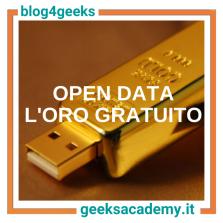 OPEN DATA = ORO GRATUITO. MA COSA SONO GLI OPEN DATA?